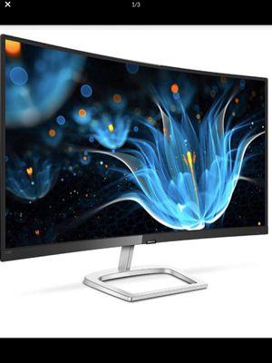 "Phillips 32"" 328E9FJAB Curved Frameless Monitor, Quad HD 2K, 122.6% sRGB, FreeSync, VESA for Sale in Industry, CA"