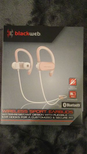 blackweb wireless sport earbuds for Sale in Gassaway, WV