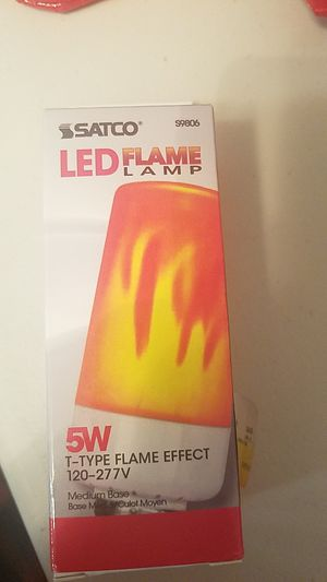 LED Flame Lamp 5w for Sale in Sacramento, CA