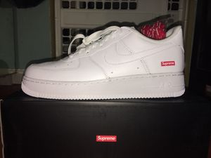 Nike Air Force 1 Low Supreme White for Sale in Los Angeles, CA