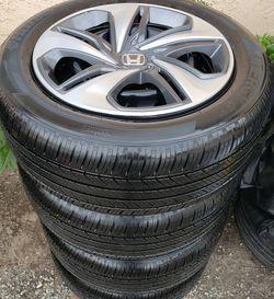 2020 HONDA CIVIC WHEELS WITH 215/55/16 TIRES 90% TREAD ALL MATCHING HANKOOK KINERGY GT KONTROL TECHNOLOGY Tires for Sale in San Bernardino,  CA