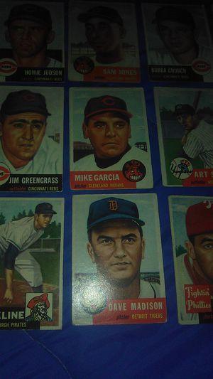 1953 Topps baseball cards original. for Sale in Hanford, CA