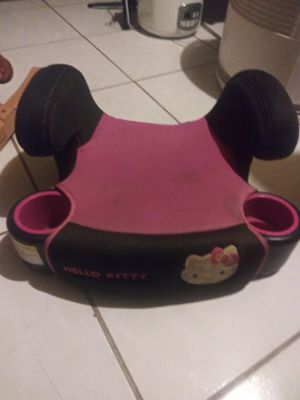 Hello kitty booster car seat for Sale in Powder Springs, GA