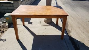 Wood dining table. FREE for Sale in Riverside, CA