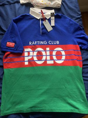 POLO RALPH LAUREN HI TECH RAFTING CLUB POLO XL NEW WITH TAGS 92 92 STADIUM for Sale in Arlington, VA