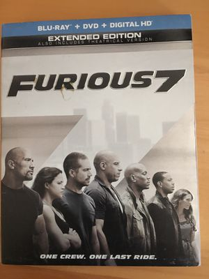 Furious 7 BluRay & DVD for Sale in Littleton, CO