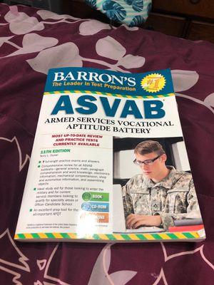 ASVAB TEXTBOOK for Sale in Norfolk, VA