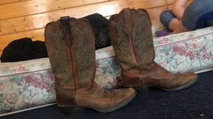 Justin boots for Sale in Maroa, IL