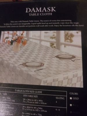 Manteles para mesa cuadrada for Sale in Compton, CA