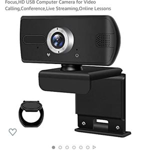 Webcam with Microphone,OULUCCI 1080P Webcam,Manul Focus,HD USB Computer Camera for Video Calling,Conference,Live Streaming,Online Lessons for Sale in Buena Park, CA