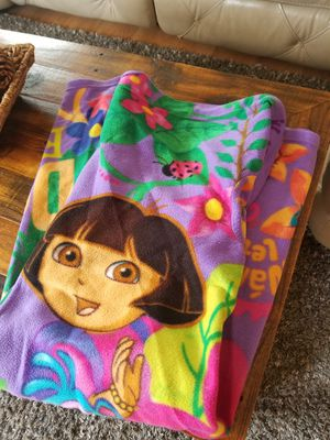 Dora the Explorer Kids Snuggie Blanket Robe for Sale in Garland, TX