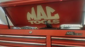 Mac tools box and snap on tools for Sale in Alexandria, VA