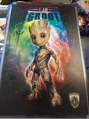 Baby Groot Picture Poster for Sale in Newton Falls, OH