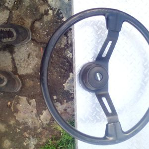 Freightliner Steering Wheel Plus Electrical Connection Between Tractor And Trailer On A Big Rig And It Is Used Both Items 25 Bucks The Steering Wel for Sale in Riverside, CA