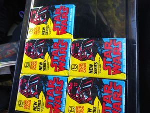 1977 TOPPS Movie photo cards starwars series 2 Sealed Extreamly Rare Going Fast 18 left for Sale in San Jose, CA