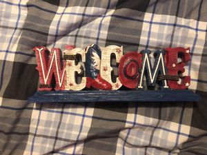 4th of July welcome sign for Sale in Riverdale, IA