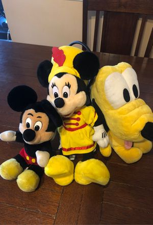 Disney Plushies for Sale in Cypress, CA