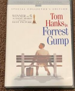 Tom Hanks is Forest Gump Movie DVD 1994 (2 Disc Set) for Sale in Chapel Hill,  NC