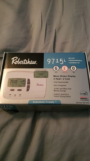 Robertshaw programmable thermostat for Sale in Imperial, MO