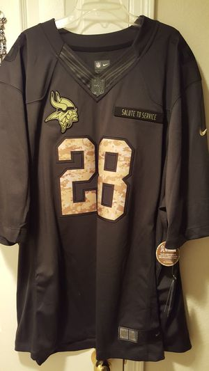 NFL PETERSON JERSEY SALUTE TO OUR TROOPS for Sale in Alexandria, VA