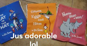 Dr suess bags for Sale in Peoria, IL
