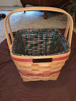 1995 Longaberger Christmas Edition - Cranberry Basket for Sale in Orlando, FL