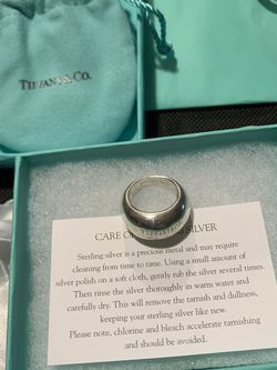 Tiffany & Co Elsa Peretti Ring Size 5 for Sale in Amsterdam,  NY