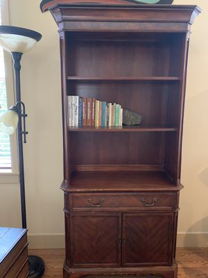 Hutch with shelving, drawer & storage for Sale in Mukilteo, WA