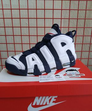 NIKE AIR MORE UPTEMPO OLYMPICS SIZE 10.5 US MEN SHOES NEW WITH BOX $200 for Sale in Cleveland, OH