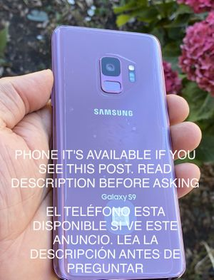 Samsung galaxy S9 64g unlocked for Sale in San Leandro, CA