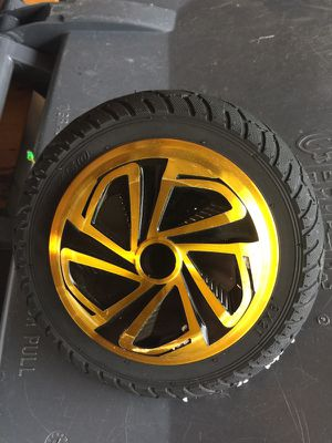 "8.5"" gold replacement hoverboard wheel/motors for Sale in Hollywood, FL"
