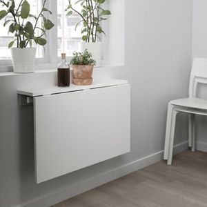IKEA Norbert wall-mounted table for Sale in Key Biscayne, FL