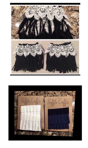 New Ruffle Cuffs and Boot Fringe for Sale in Smyrna, TN