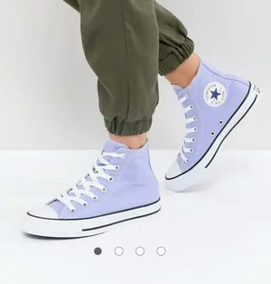 Converse Chuck Taylor All Star Hi Sneakers In Lilac for Sale in Bronx, NY