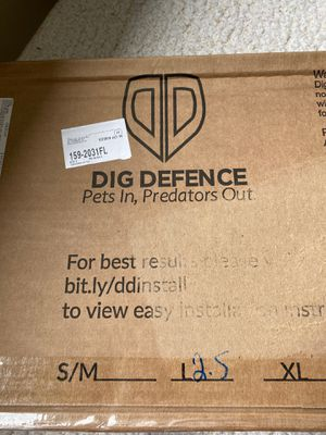 Dig Defence PETCO NEW 4PC CAN DELIVER for Sale in North Providence, RI