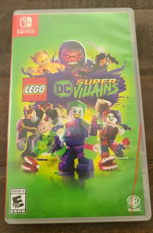Lego DC Super Villains for Nintendo Switch for Sale in Hartford, CT