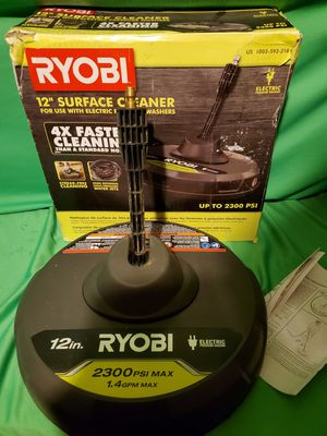 RYOBI PRESSURE WASHER SURFACE CLEANER ATTACHMENT for Sale in Beaumont, CA