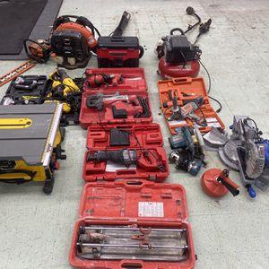 Tools , Drills , Saws Blowers , Compressor for Sale in Arlington, VA