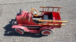Edmonds Fire Department Pedal Firetruck Vehicle Toy for Sale in Bothell, WA