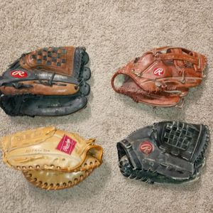 Rawlings Baseball Gloves for Sale in Fresno, CA
