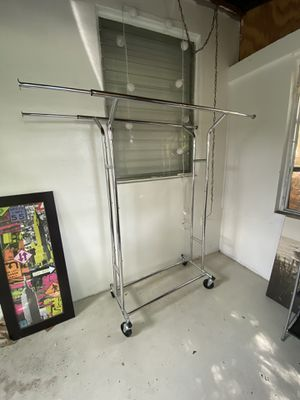 Clothing rack holds up to 150lbs for Sale in Fort Lauderdale, FL