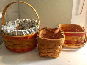 Small Longaberger Baskets for Sale in Patterson, CA