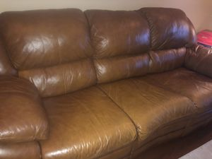 Leather reclining 3 pcs set for Sale in Secaucus, NJ