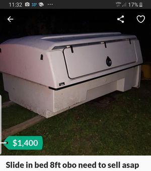 Slide in bed truck bed camper for Sale in Palatine, IL