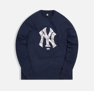 Kith MLB Major League Baseball NY New York Yankees L/S Long Sleeve Tee Navy Size Small Snakeskin Logo for Sale in Mountain View, CA