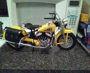 1/16 indian chief motorcycle 16 inches long 8 inches high excellent condition for Sale in Philadelphia, PA