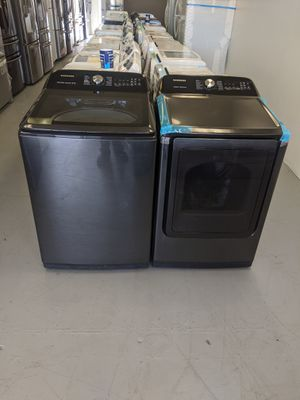 Samsung Washer 5.0 - cu ft Dryer Gas. Available 🏦 for Sale in San Bernardino, CA