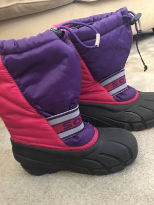 Kids sorrel snow boots for Sale in Seal Beach, CA