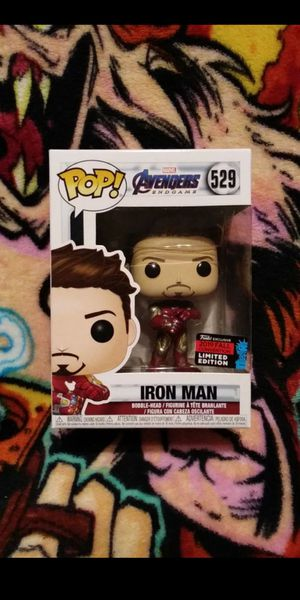 Funko Pop Marvel Iron Man 2019 NYCC Exclusive Limited Edition #529 for Sale in Stanton, CA