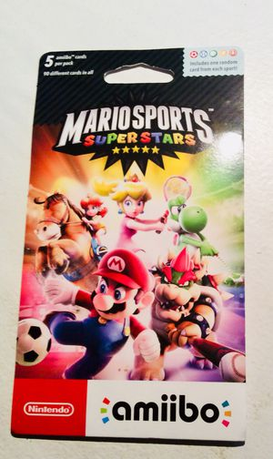 Mario Sports Superstars Amibo Cards for Sale in St. Louis, MO